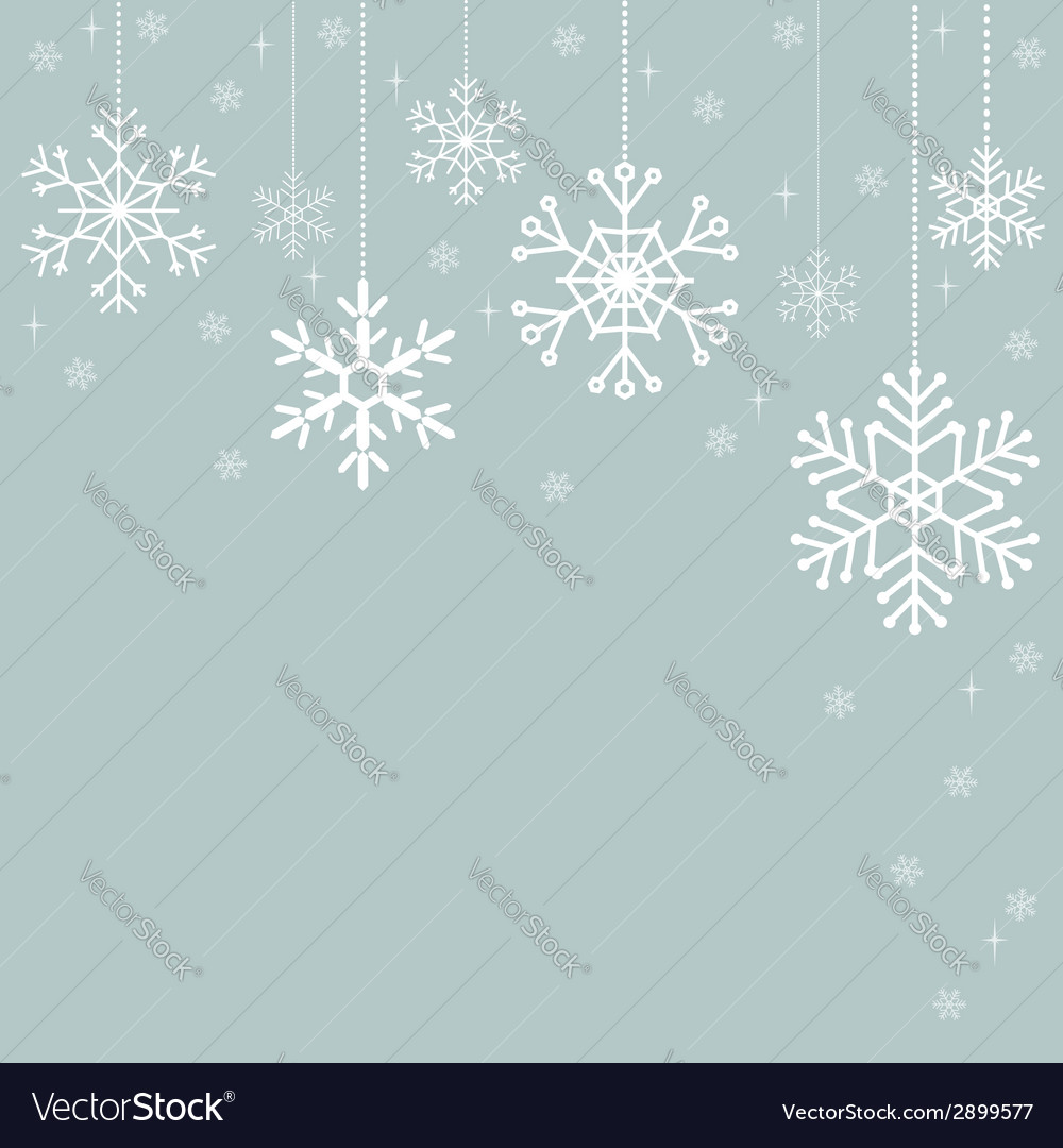 Snowflakes Christmas decorations