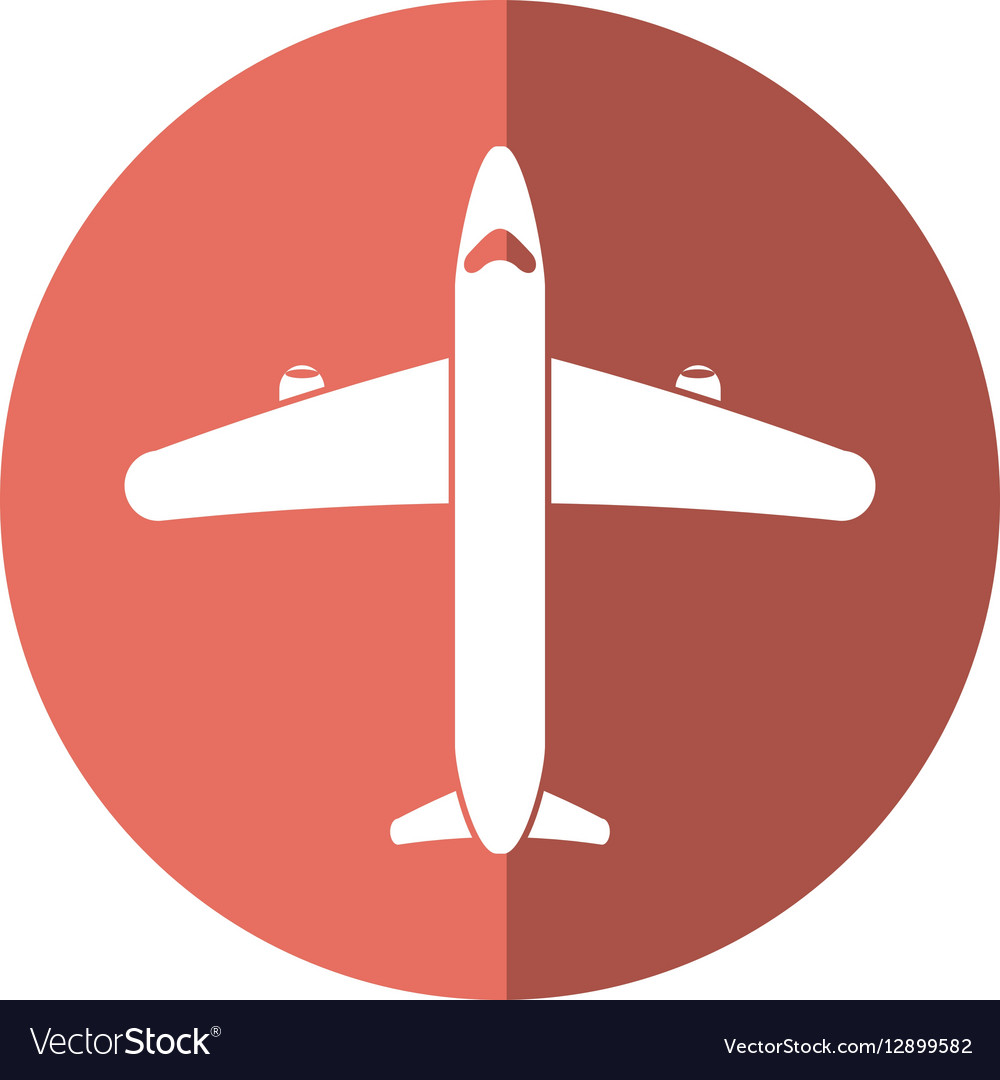 Airplane transport flying travel shadow