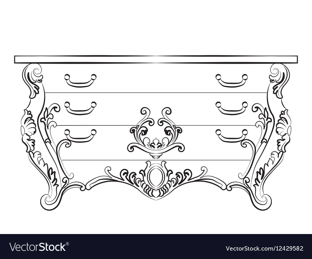Baroque Imperial luxury furniture