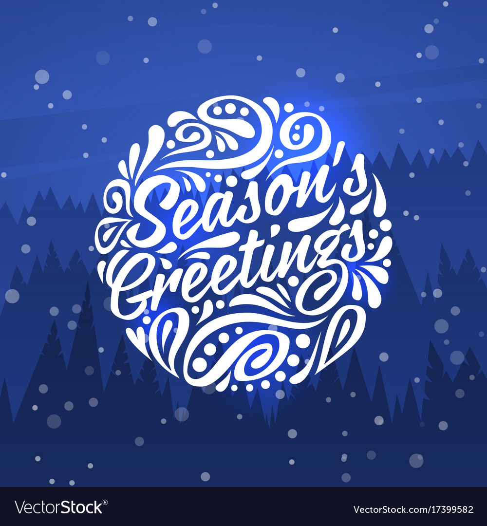 a049aa03c15f9 Seasons greetings holidays greeting card