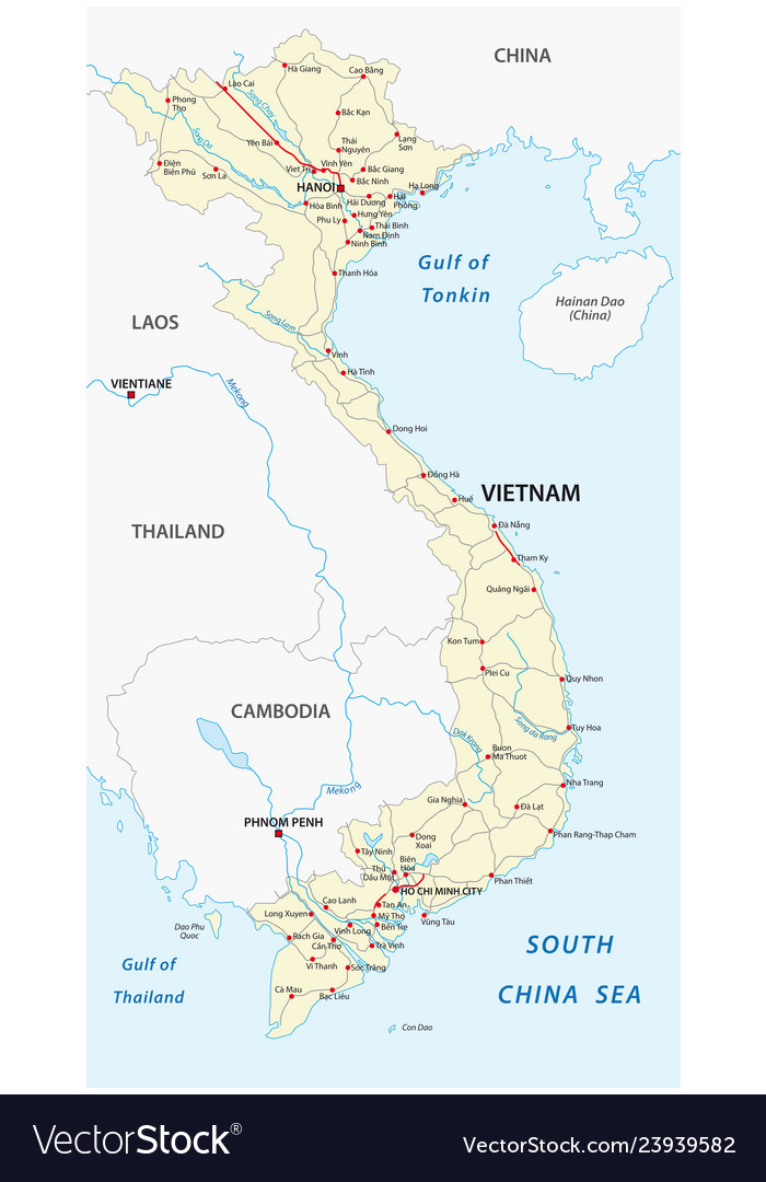 Socialist republic vietnam road map