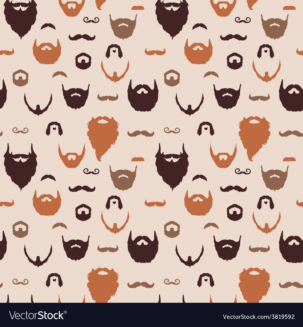 Beards and Mustaches pattern