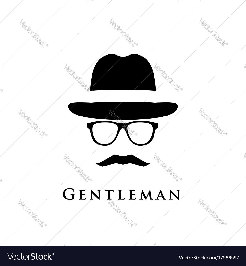 A gentleman with a hat glasses and a mustache