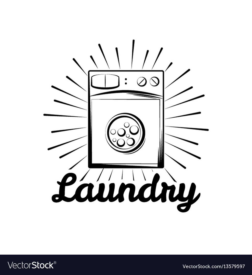 Washing machine laundry room and dry cleaning