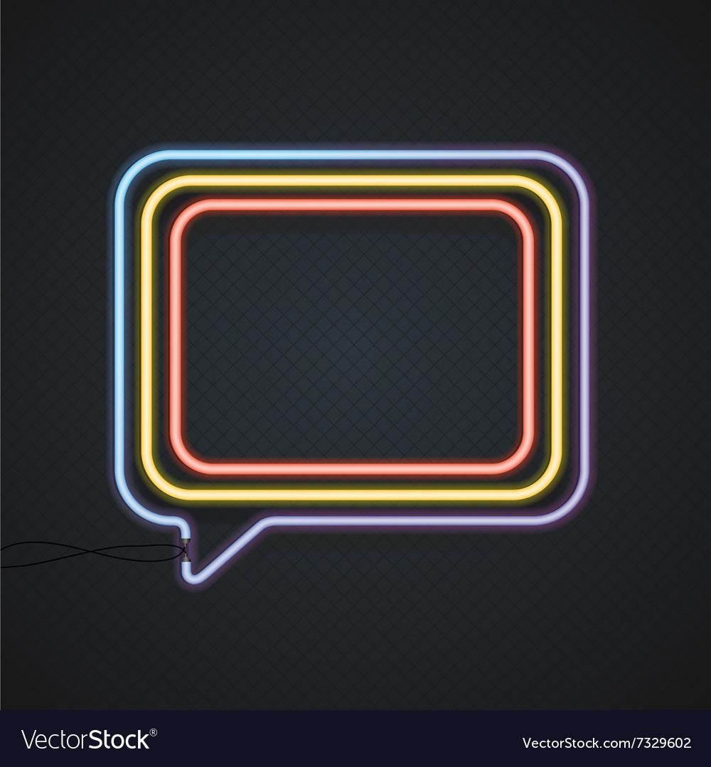 Neon Banner