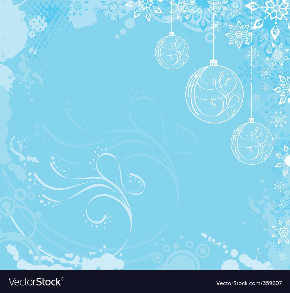 Cool Christmas vector image
