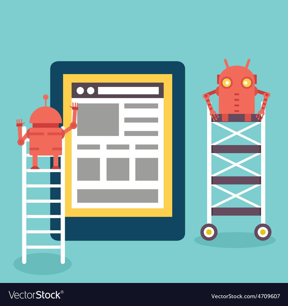 Process of creating site Development skeleton