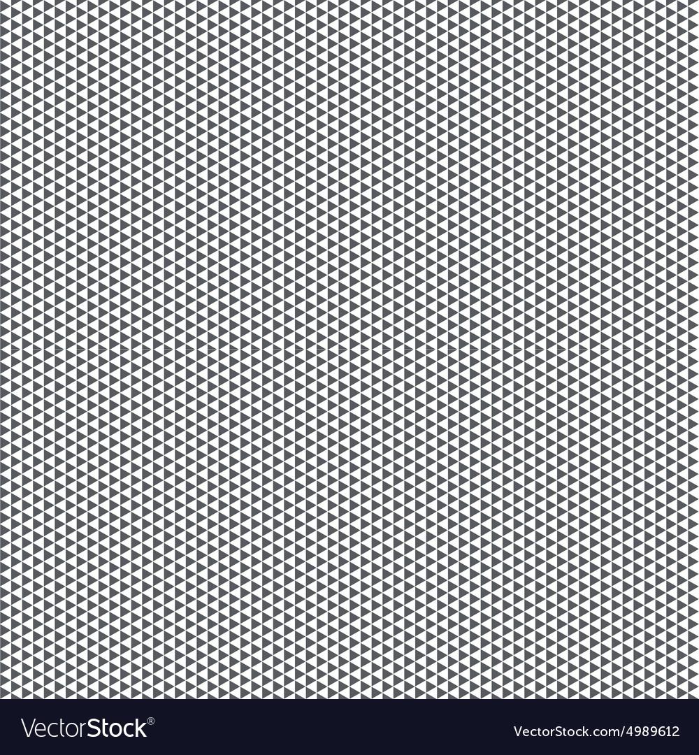 Big seamless black pattern triangles on white
