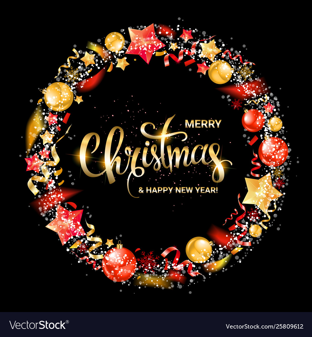 Merry Christmas Logo 2020 Merry christmas and new year 2020 Royalty Free Vector Image