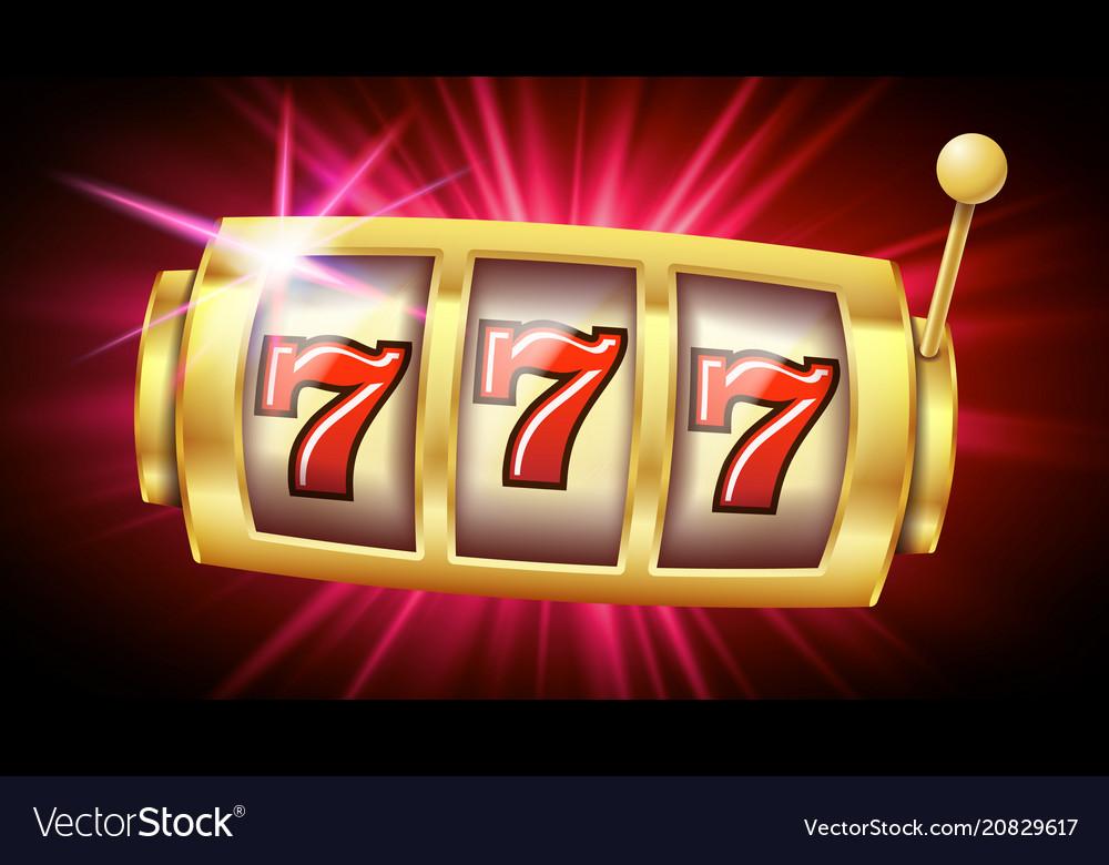Casino slot machine banner casino game