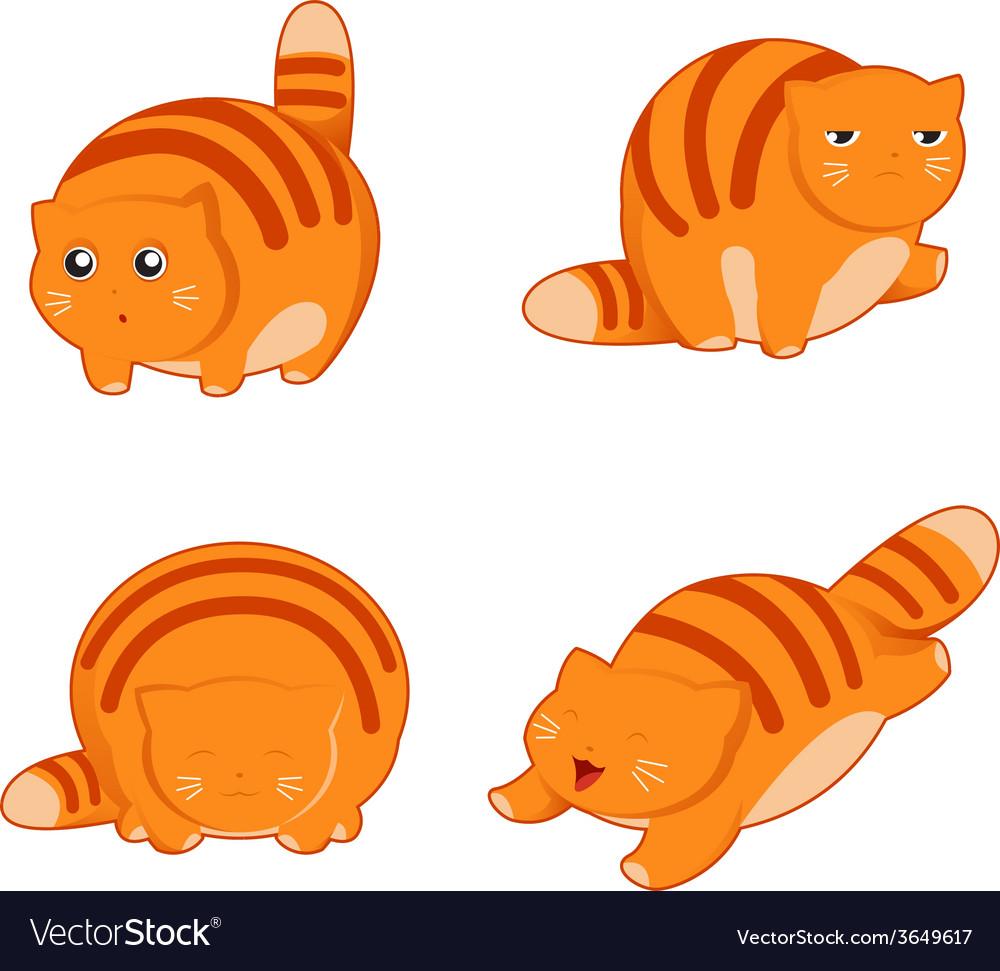 Fat cat icons