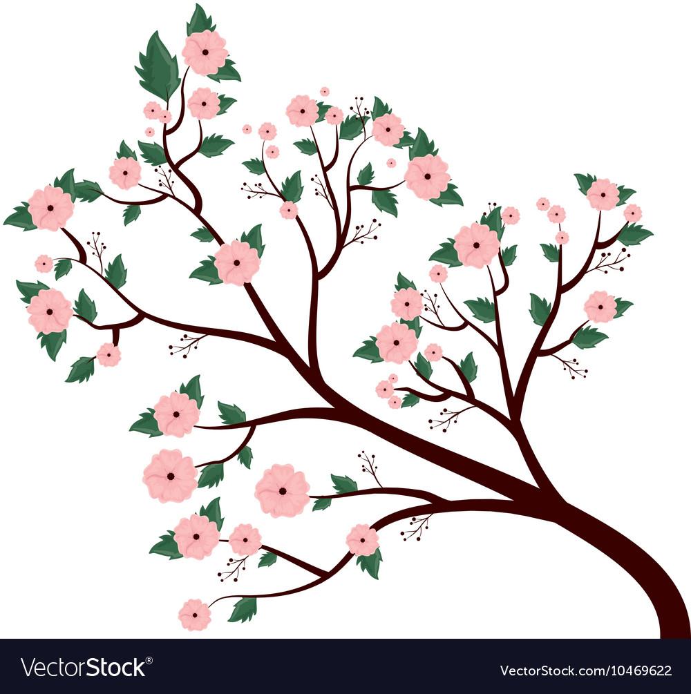 Beautiful flowers decoration background