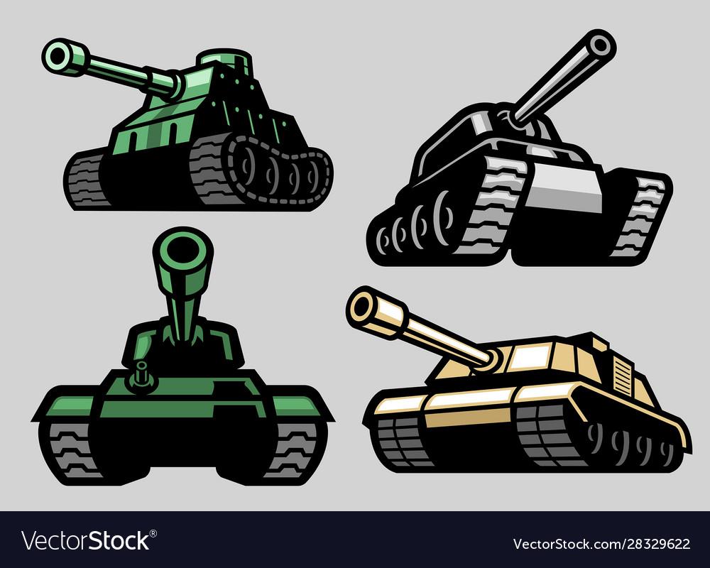 Set bundle military tank