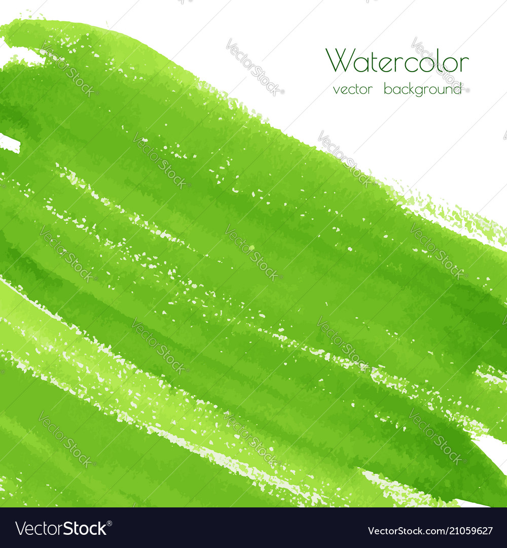 Greenery watercolor texture background