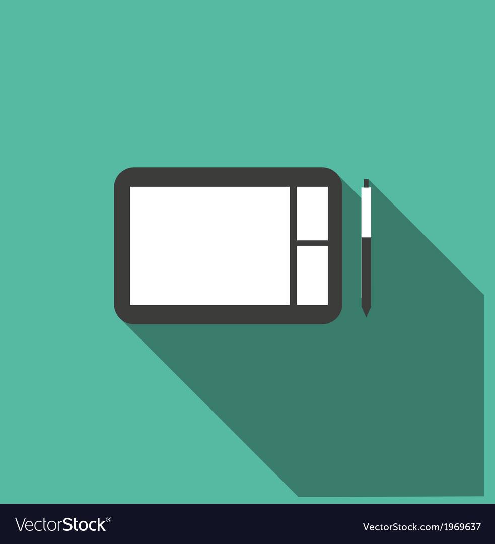 Digital sketchpad icon