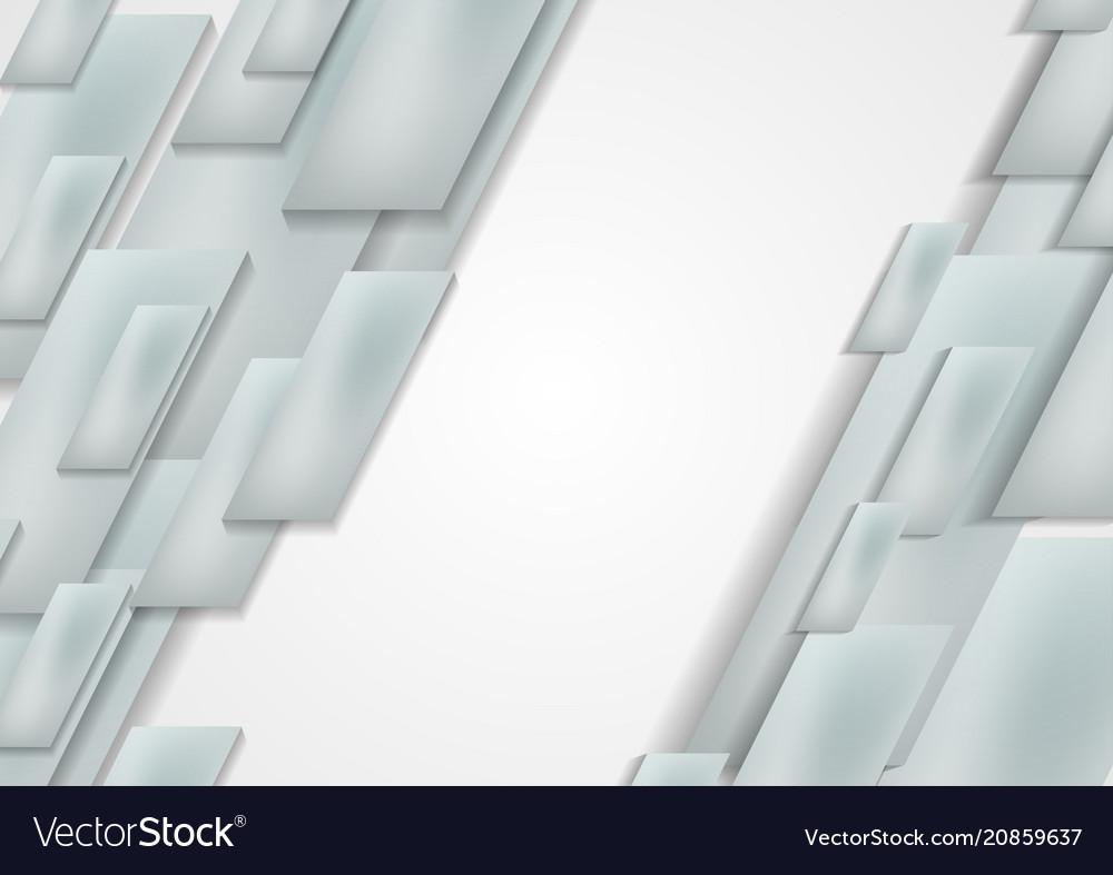 Light grey blue technology geometric background