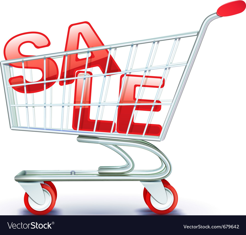 Discount concept vector image