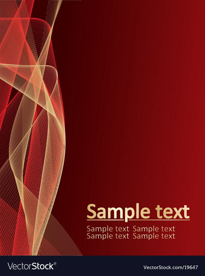 Background from beautiful gold pattern vector image