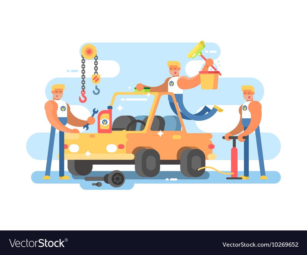 Full auto repair