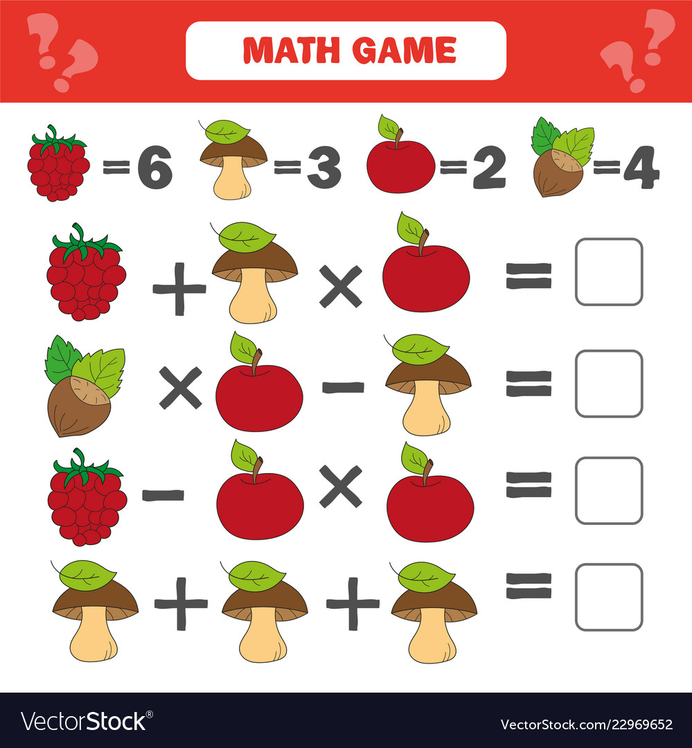 Mathematics worksheet for kids count educational