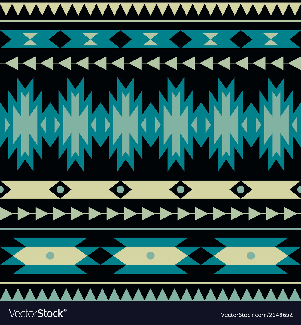 Seamless colorful decorative ethnic pattern