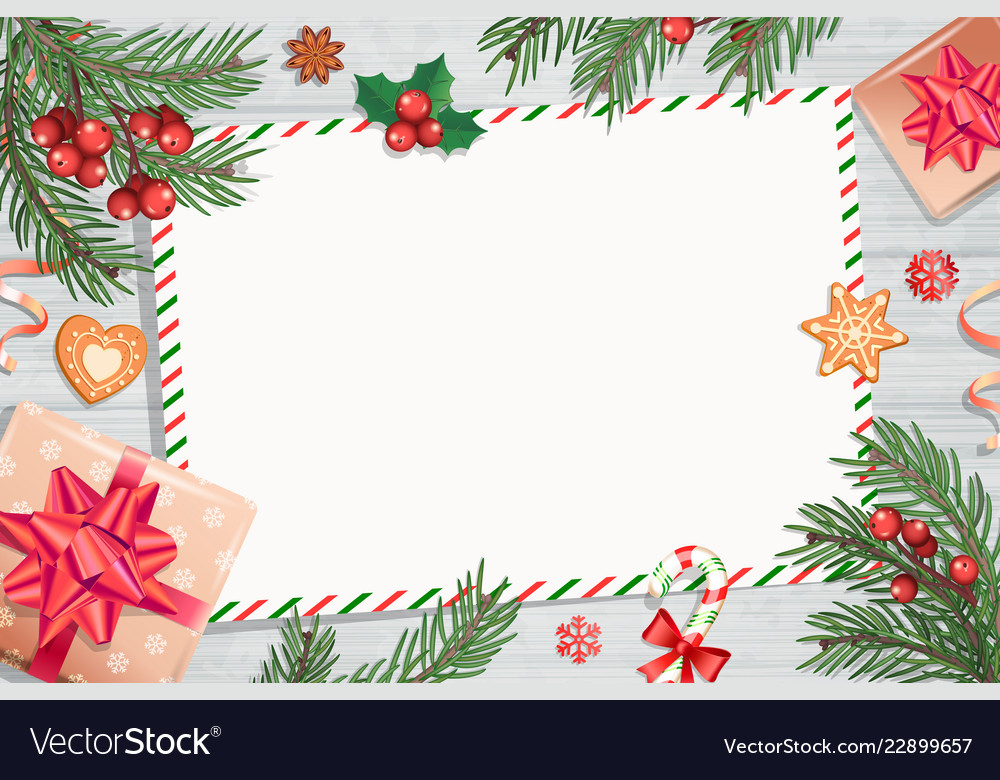 Christmas Letters.Template Of Christmas Letters And Wishes