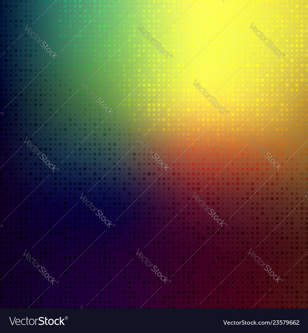 Abstract bright colors minimal mosaic background