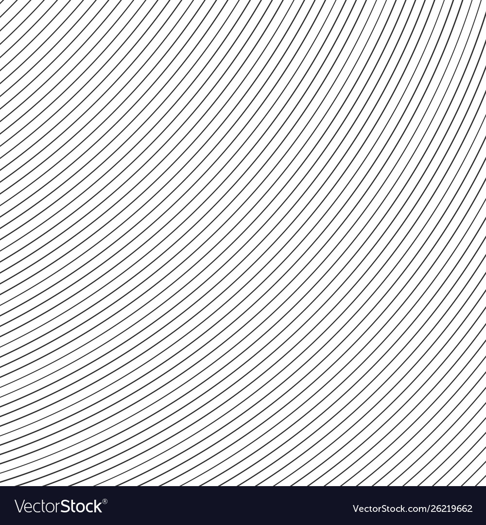 Striped lines on white background abstract