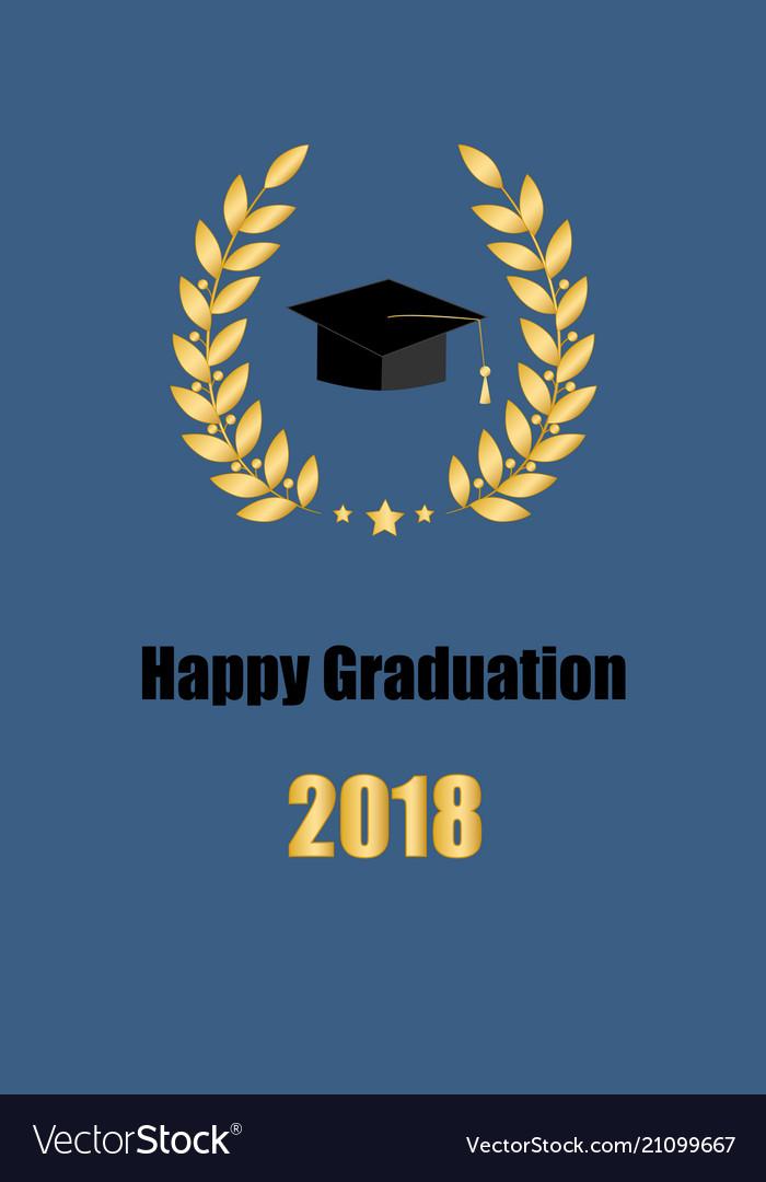 Graduate card class of 2018