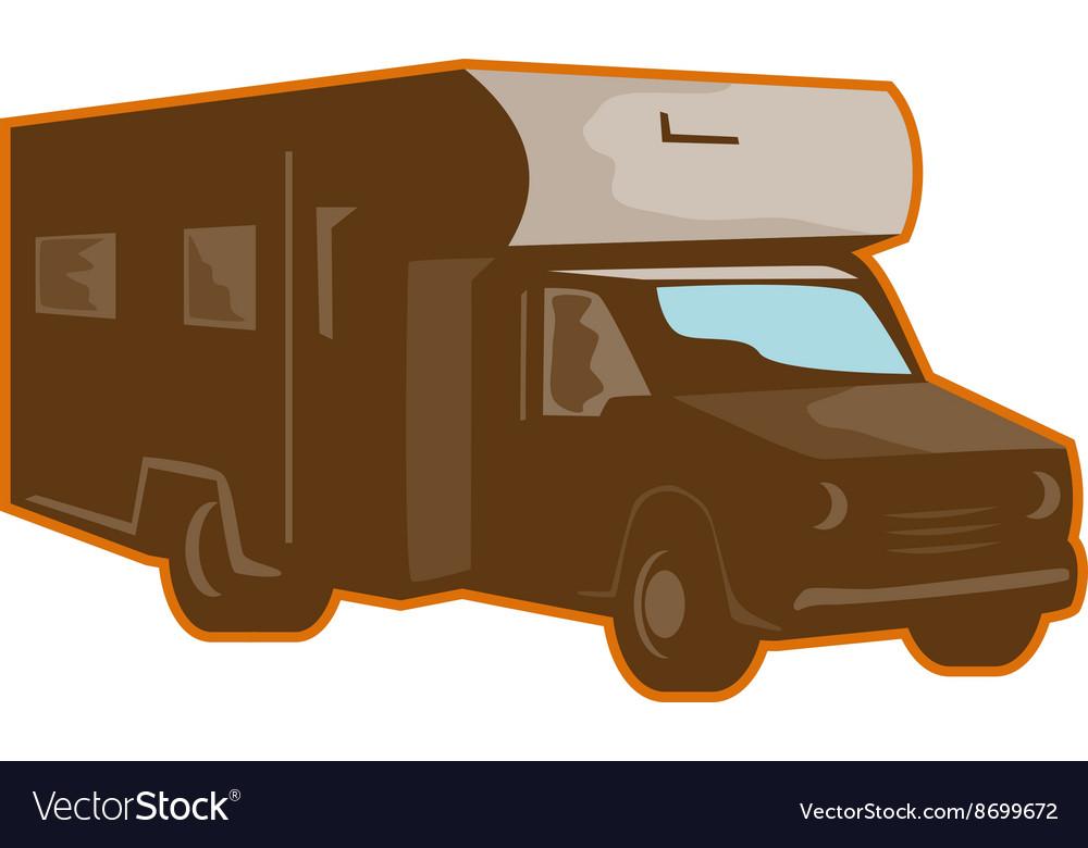 Campervan Motorhome Retro