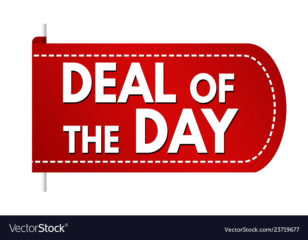 Deal of the day banner design
