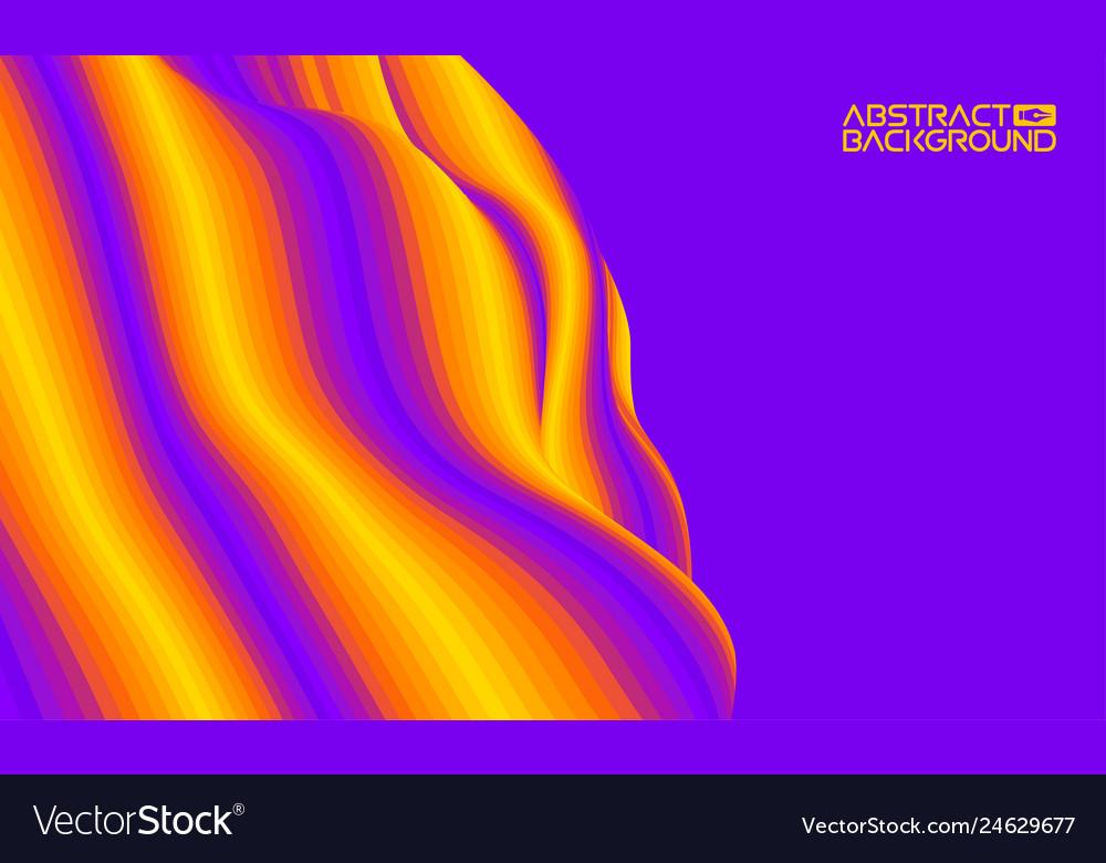 Eps 10 colorful wave background digital
