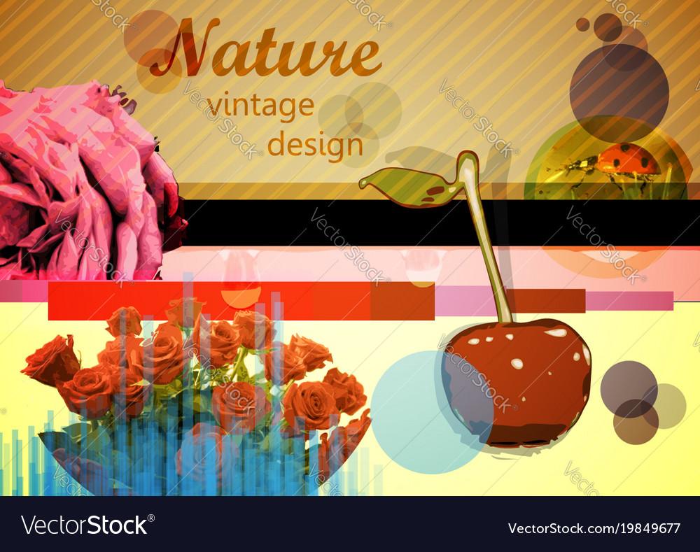 Mixed design elements