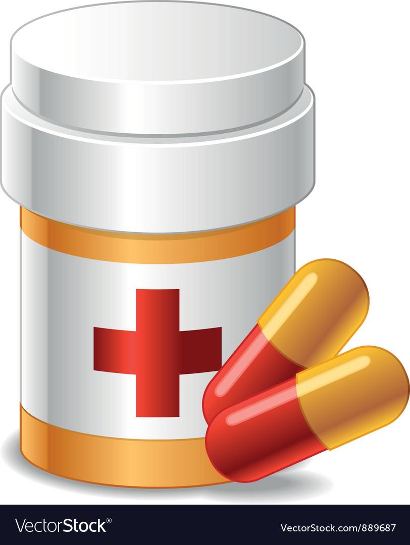 Drug vector image
