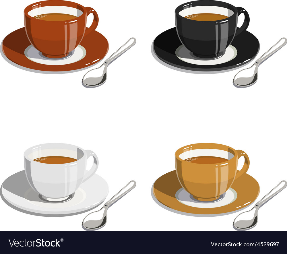 Cup of coffee Set of