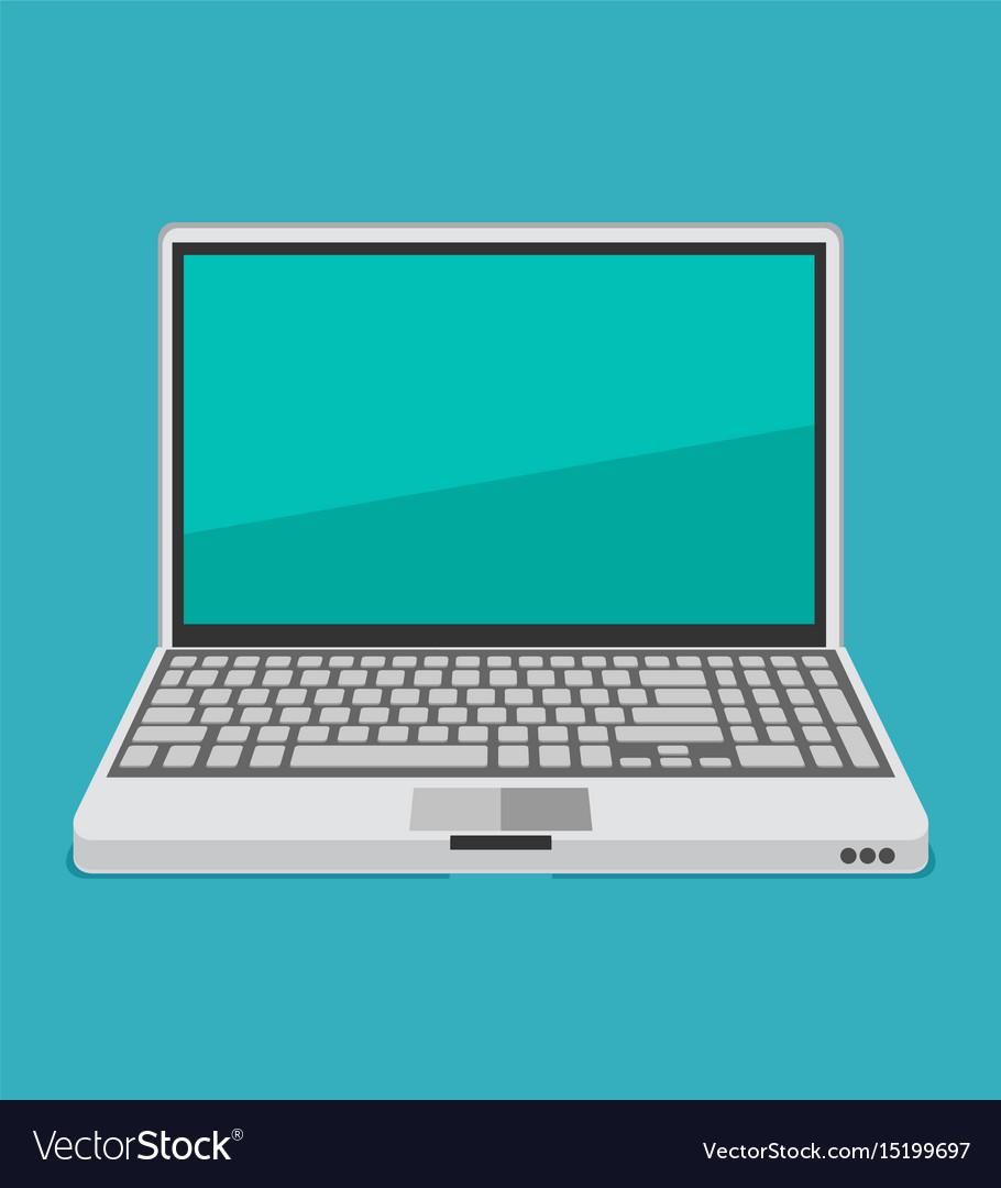 Laptop flat