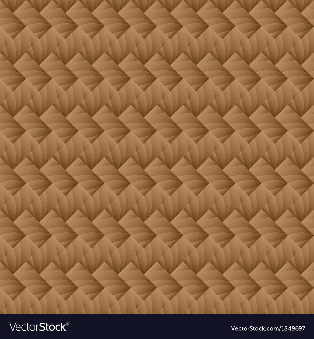 Seamless pattern parquet vector image
