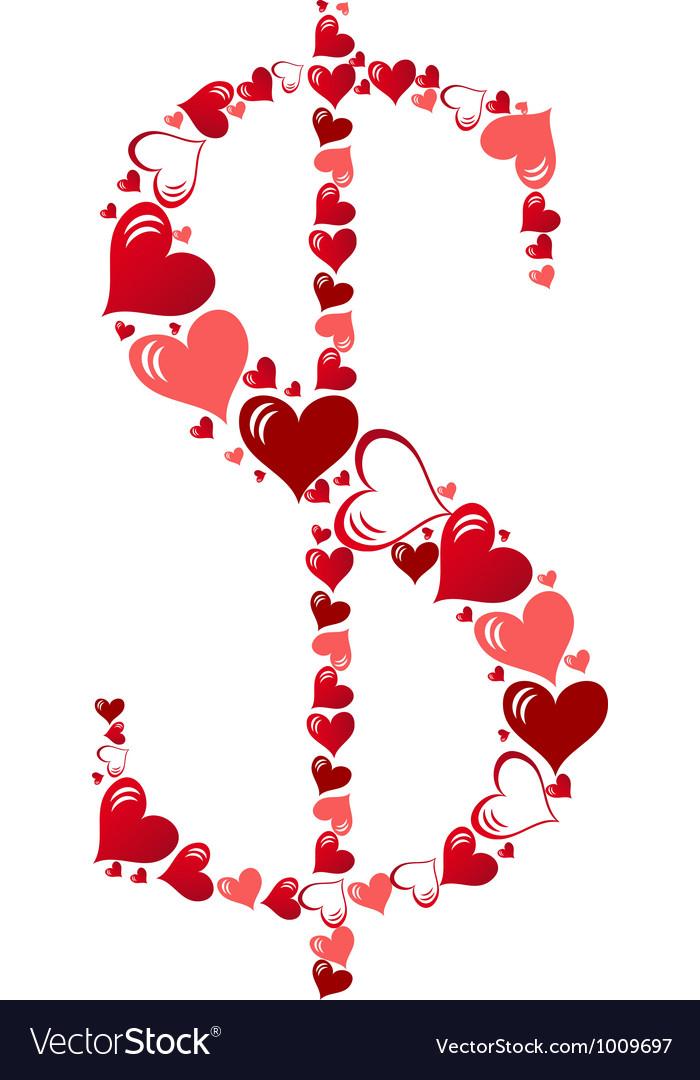 Symbol of hearts