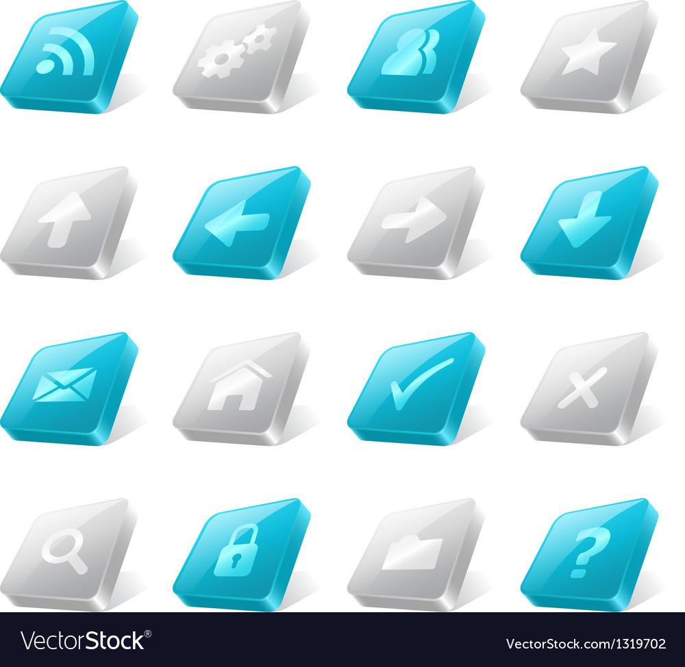 3d web buttons