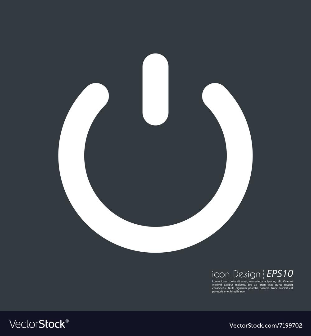 The power button icon