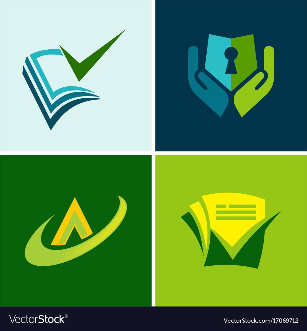 Data secure document logos