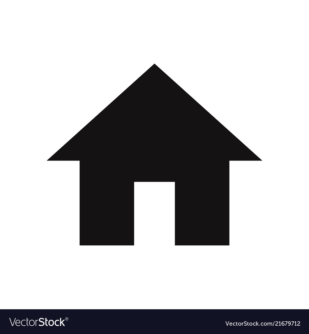Home icon house real estate residential symbol
