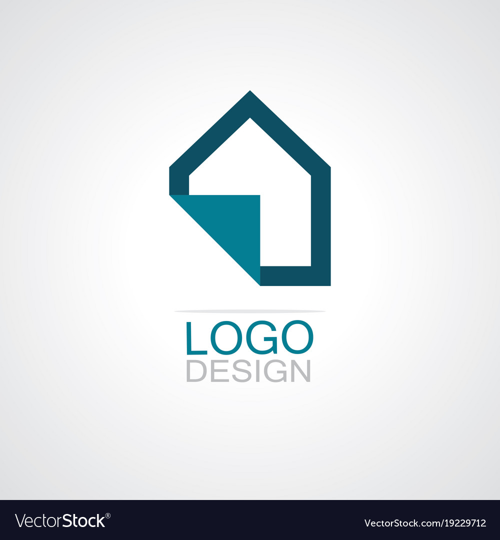 Home paper icon logo