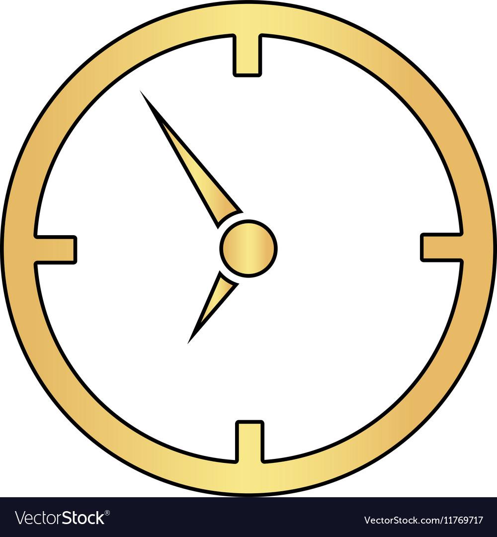 Clock computer symbol