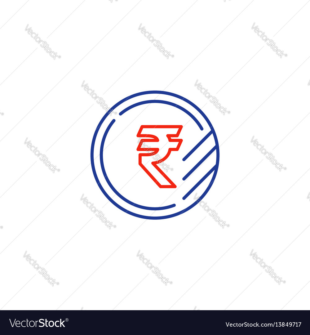 Ruble coin icon financial currency exchange
