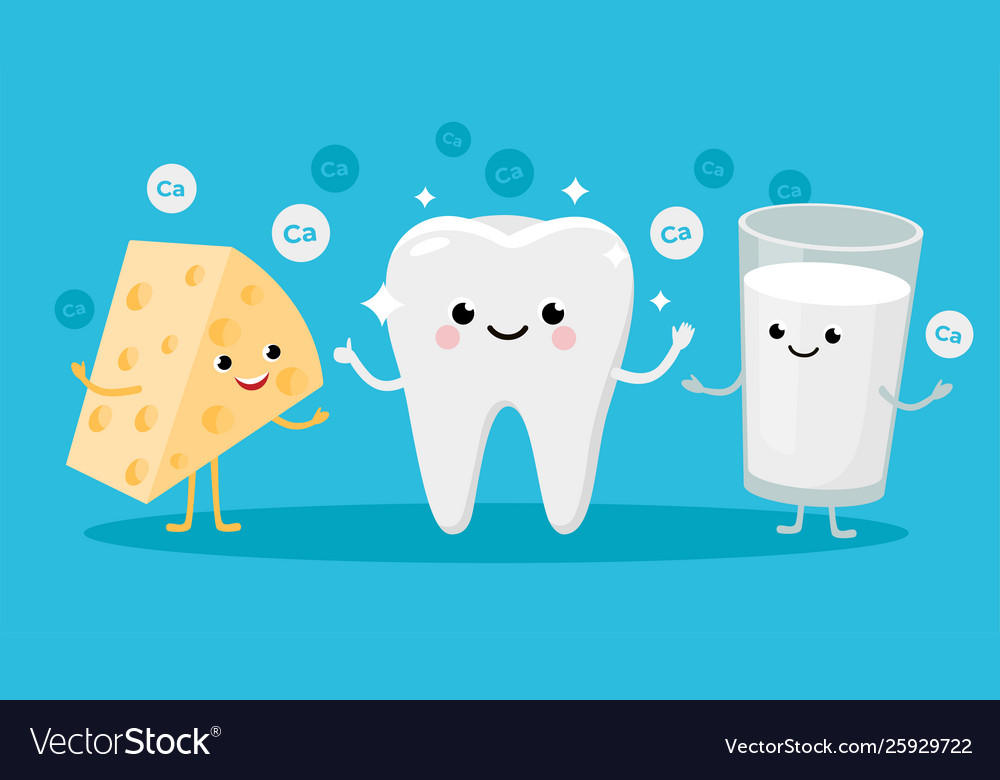 Happy healthy tooth and high calcium products