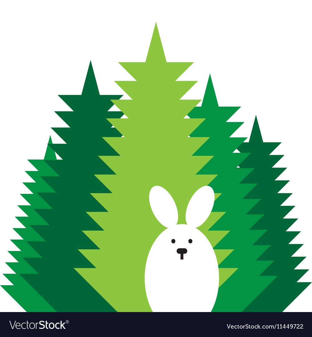 Rabbit flat icon