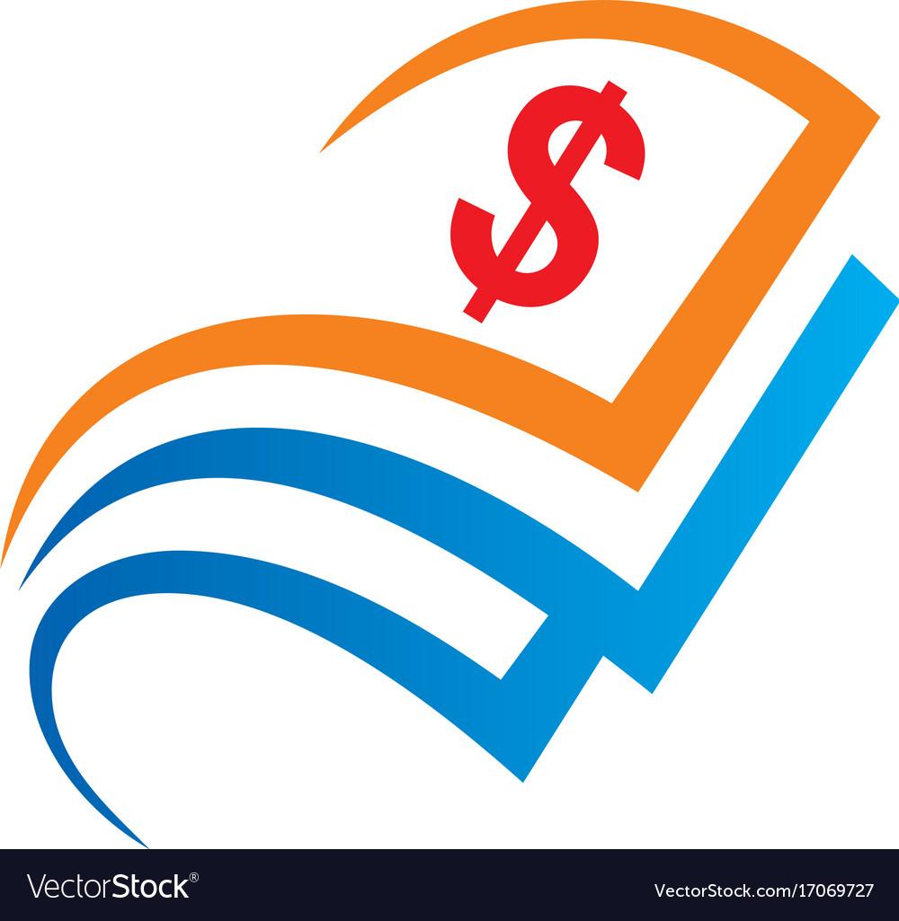 dollar sign money logo royalty free vector image