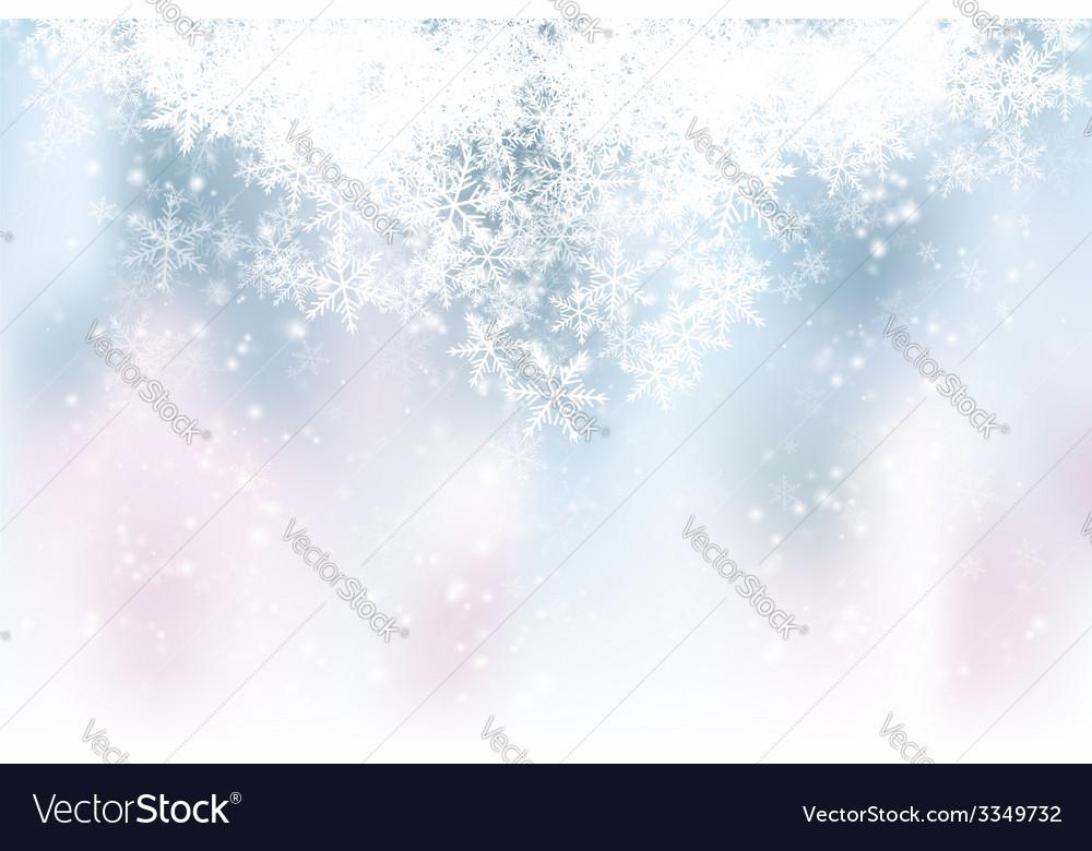 Blue Winter Backdrop