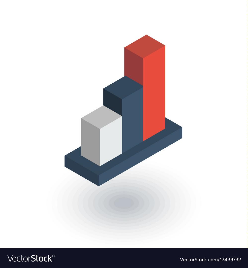 Growth graph chart market success stock bar up